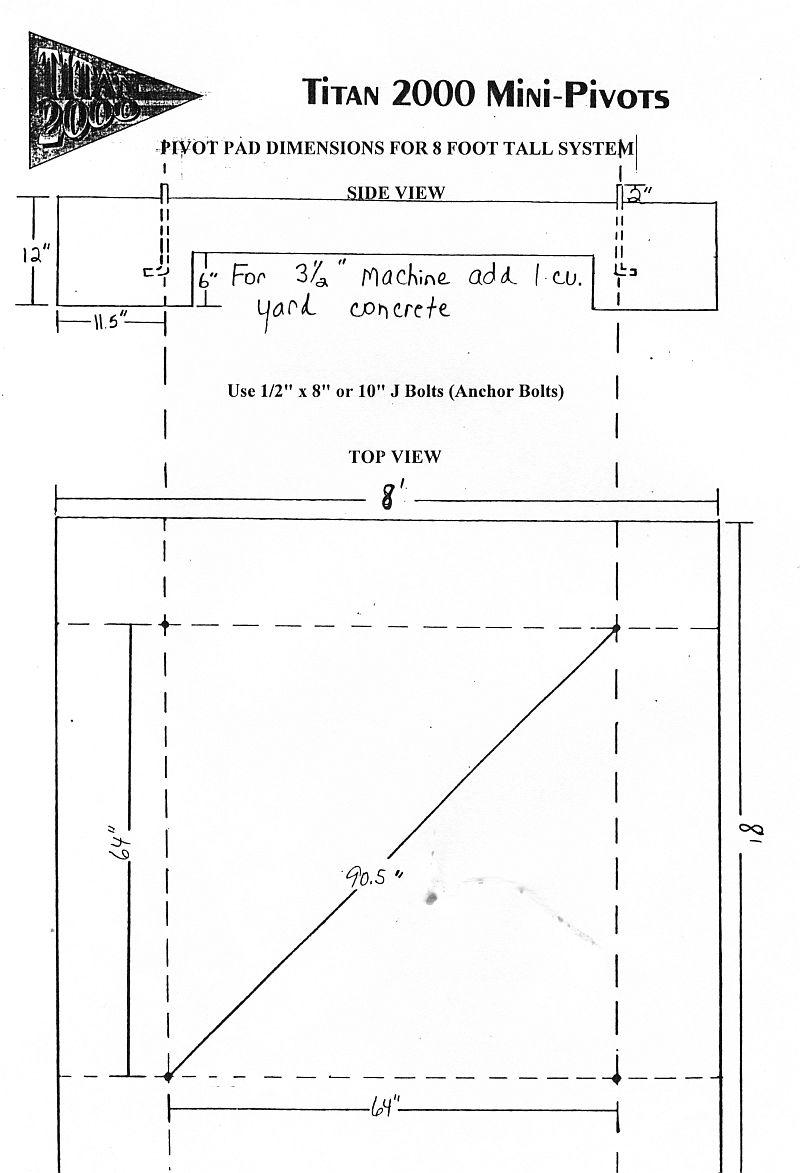 Titan Mini Pivot Irrigation System